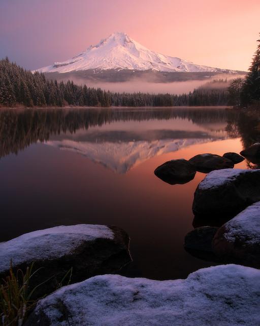 Trillium Lake Sunrise