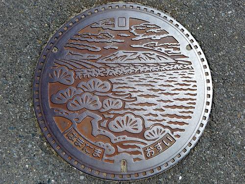 Hamatama Saga, manhole cover (佐賀県浜玉町のマンホール)