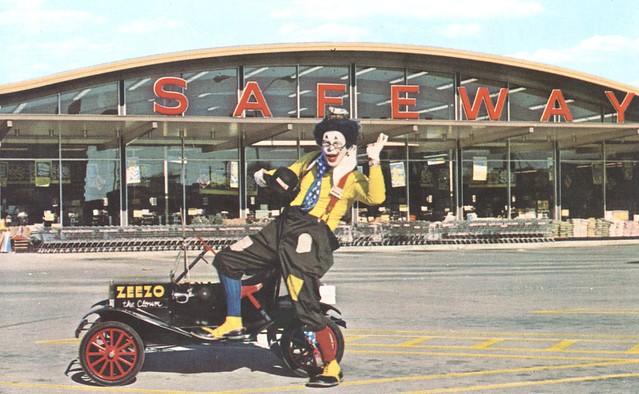 Zeezo The Clown (for Safeway)