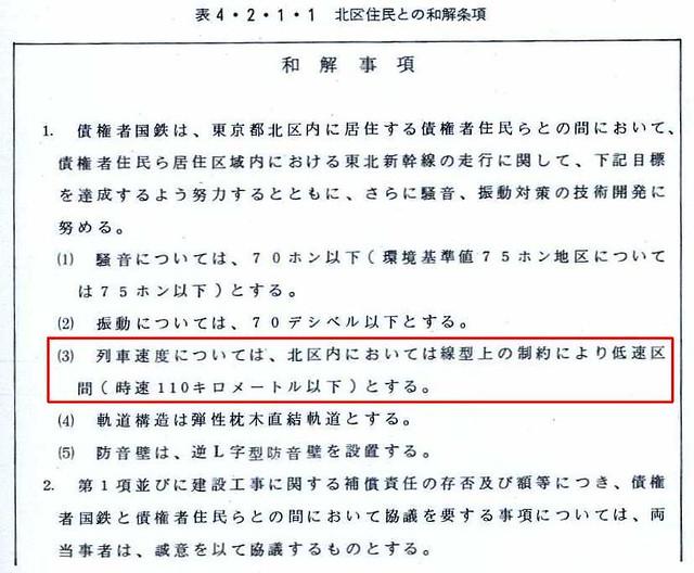 東北新幹線東京大宮間110キロ規制と線形 (18)