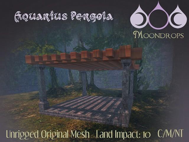 Moondrops - AquariusPergola