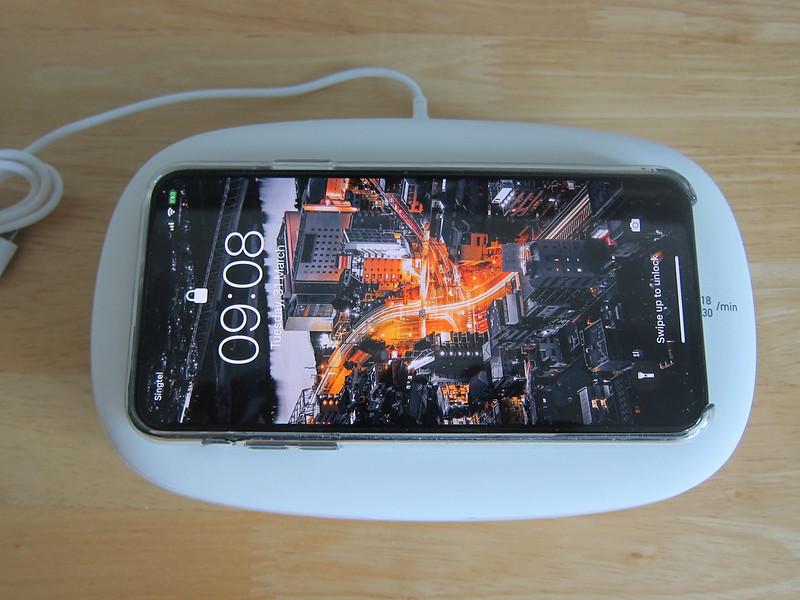 Momax Q.Power UV-Box - Wireless Charging