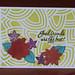 Hero Arts Tropical Flowers Scramble Card