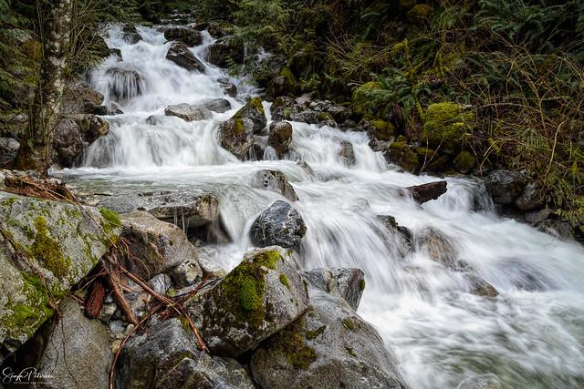 Waterfall in Davis Lake Provincial Park
