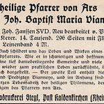 Fri, 2019-01-04 21:50 - from the Catholic magazine StadtGottes 1927