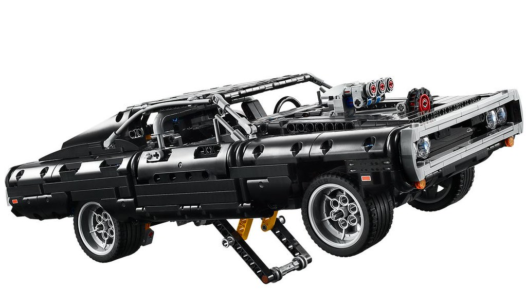 利用支架再現狂暴的彈射起步! LEGO 42111 科技系列《玩命關頭》「唐老大的道奇 Charger」(Dom's Dodge Charger)