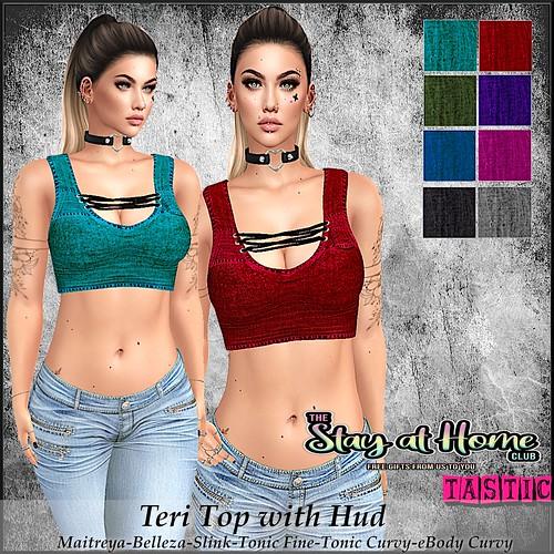Tastic-Teri Top with Hud free gift!!