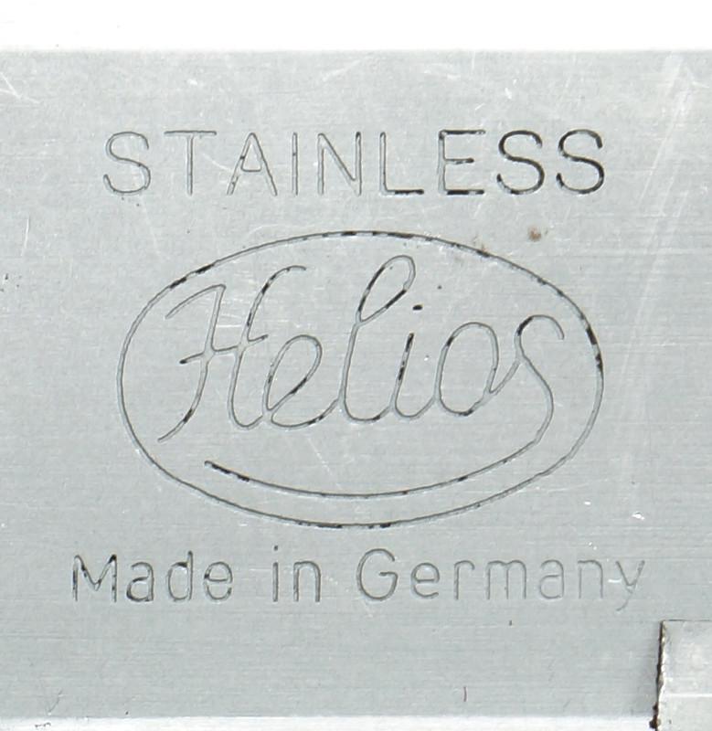 RD20908 Vintage Helios Stainless 6 inch Vernier Caliper Germany Inside Outside Depth DSC01917