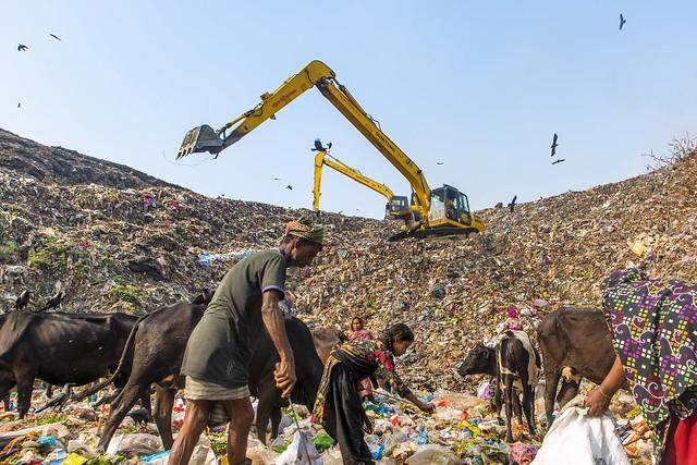 Garvage Dumping Yeard in Chittagong