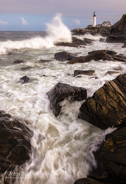 Wild Wave, Ft. Williams Park, Cape Elizabeth, Maine  79005