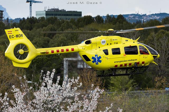 Gencat emergencias medicas EC145T2 EC-MOR