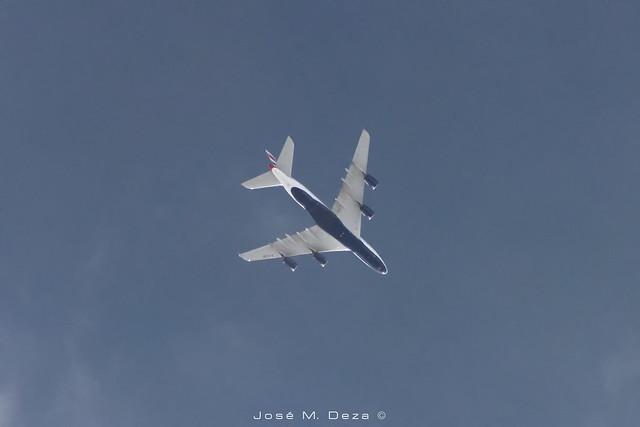 British Airways A380-841 G-XLEB