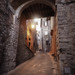 Todi backstreets - mystical look