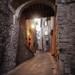 Todi backstreets - mystical look