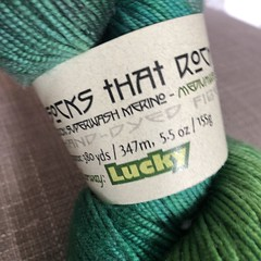 My yarn stash. #yarnstash #yarnlarder #yarn #knitting #handdyedyarn #evinok EvinOK.com