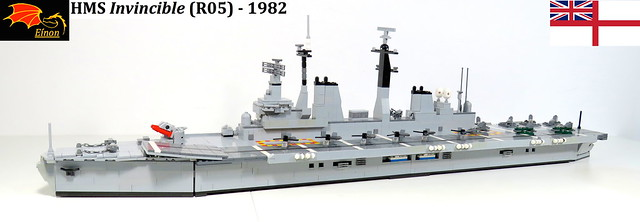 01 HMS Invincible Aircraft Carrier