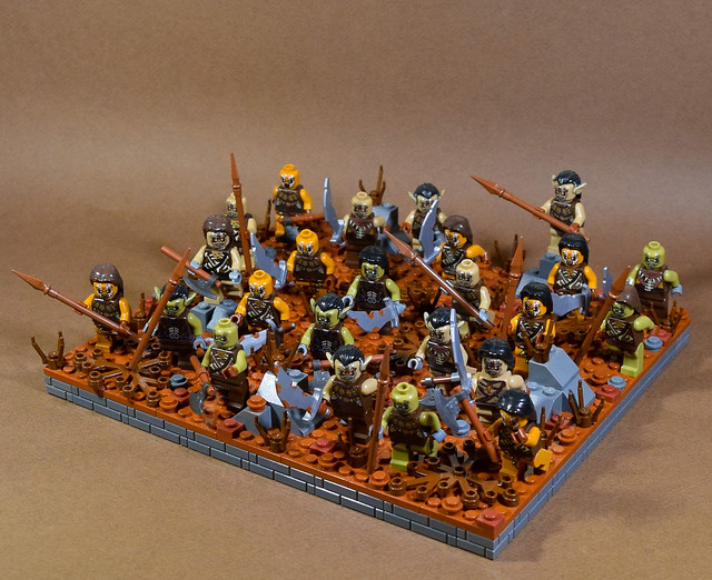 Horde Faction Regular Unit: Orc Mob