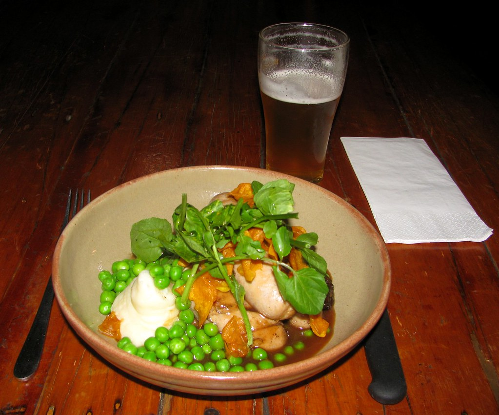 Bangers and Mash, Royal Cricketers Arms Hotel, Prospect, Sydney, NSW.