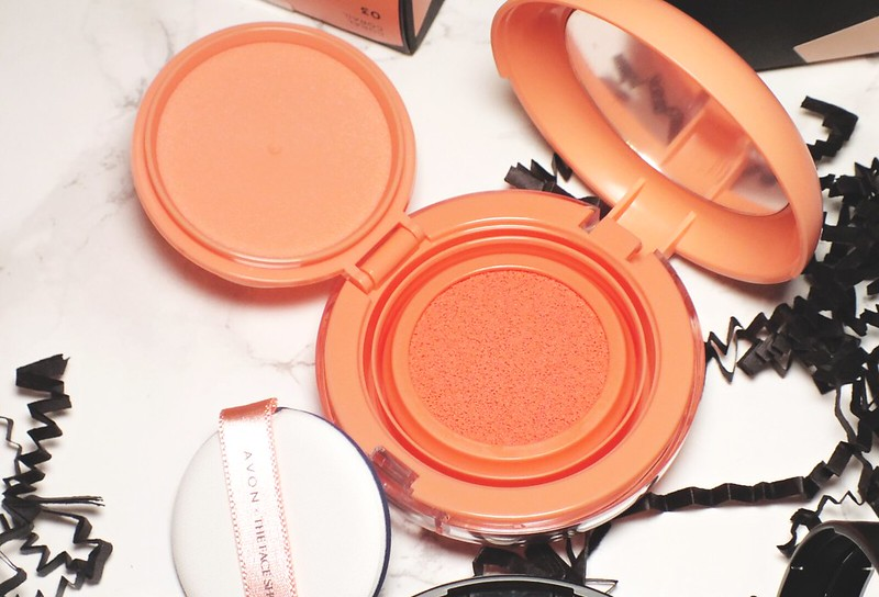 avon x the face shop Moisture Cushion Blush