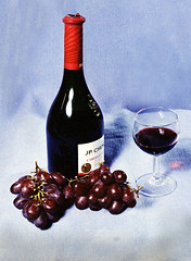 RED WINE STILL-LIFE