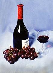 RED WINE STILL-LIFE
