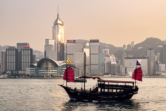 Hong Kong Golden Hour