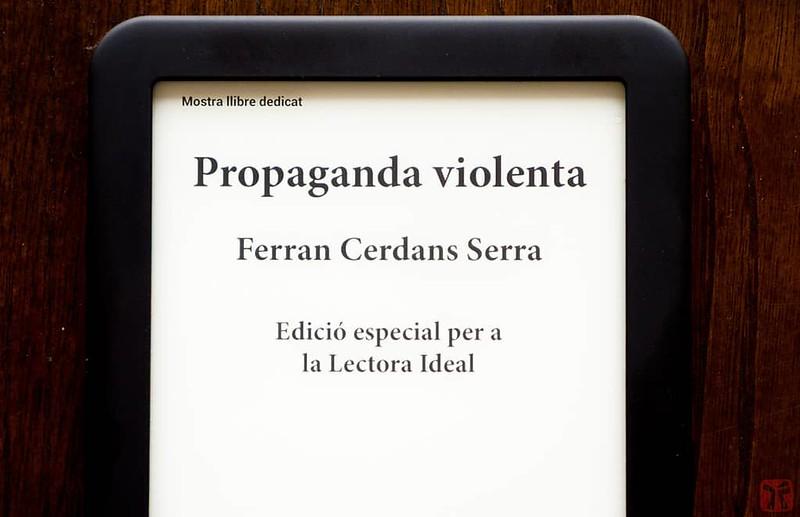 Portada personalitzada en llibre digital de Ferran Cerdans Serra