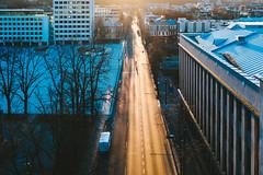 Social distance | Kaunas aerial