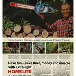 Mon, 2020-03-30 23:37 - Homelite Chain Saws (1965)