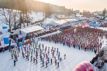 ČEZ Jizerská 50 je poprvé vhistorii světovým závodem roku vrámci seriálu Visma Ski Classics