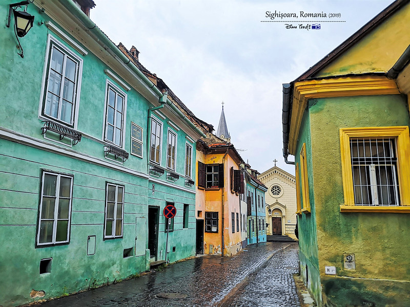 2019 Europe Romania Sighisoara UNESCO Citadel 3
