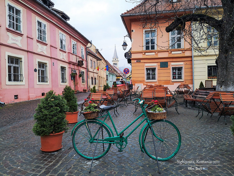 2019 Europe Romania Sighisoara UNESCO Citadel 1