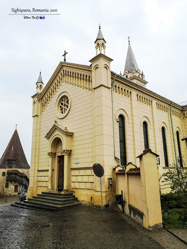 2019 Europe Romania Sighisoara St Josephs Roman Catholic Cathedral
