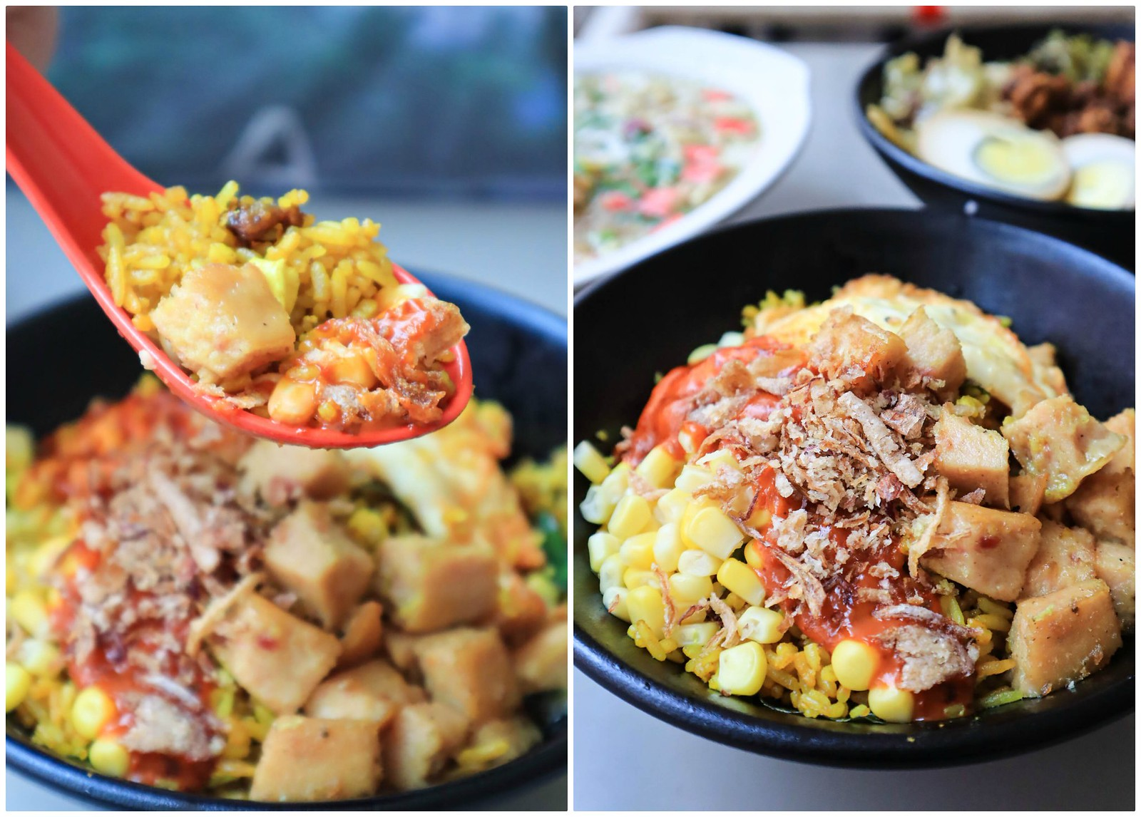 a-wonder-bowl salted egg fried rice collage