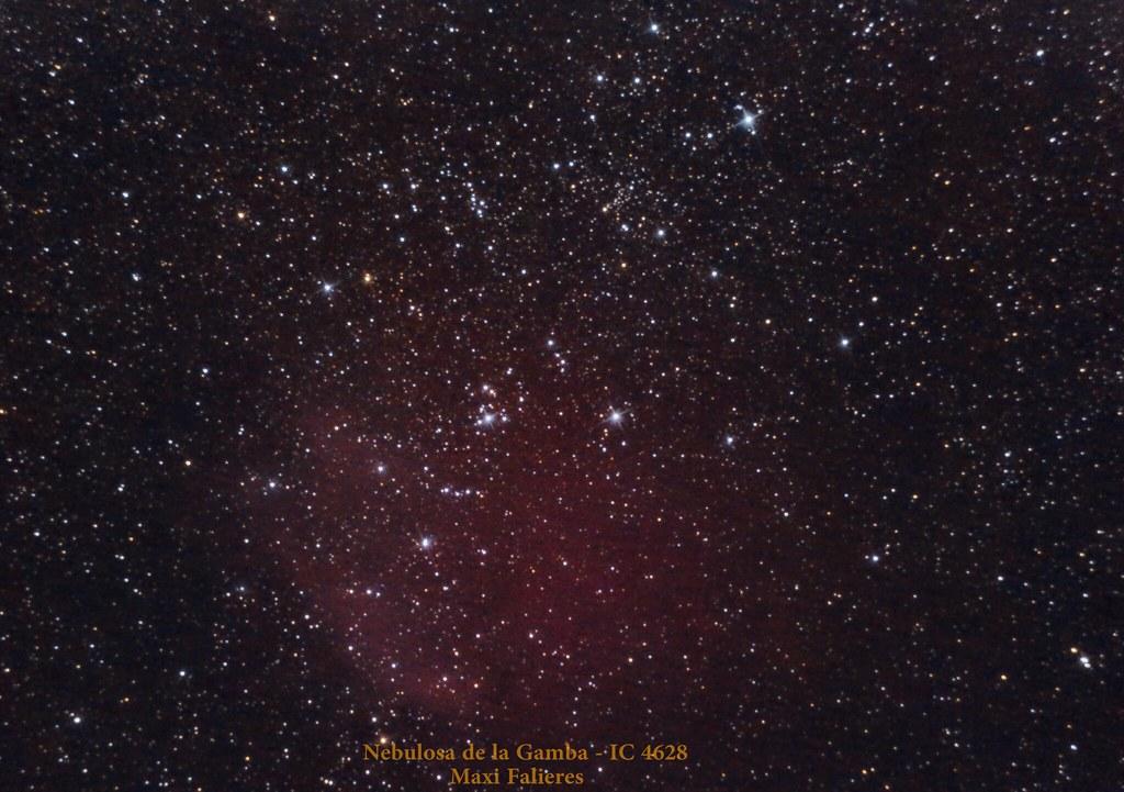 Nebulosa de la Gamba