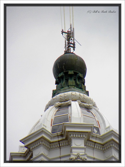 Buffalo  - New York  - Electric Tower or General Electric Tower - HIstoric - Octagon Tower