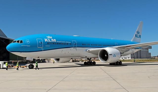 PH-BQE LMML 14-03-2020 KLM Royal Dutch Airlines Boeing 777-206(ER) CN 28691