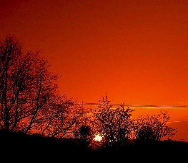 Frodsham Sunset March 30 (2)