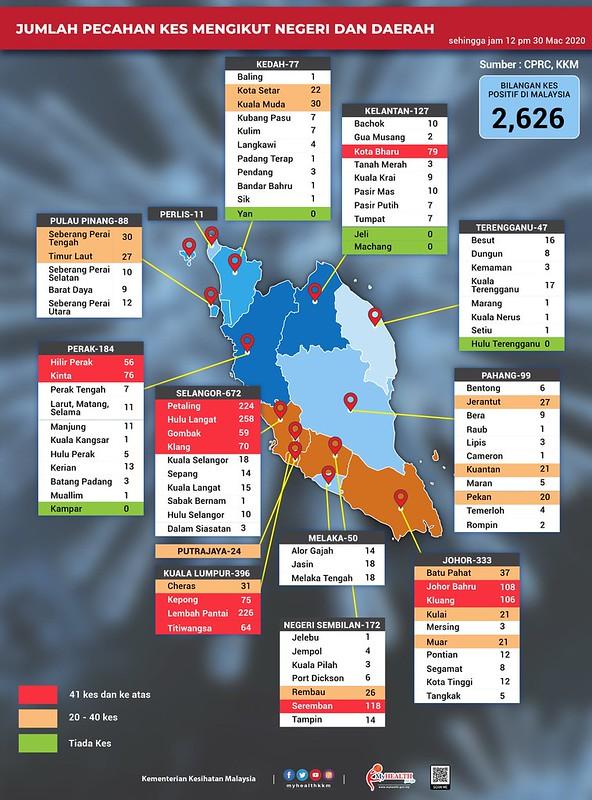 Covid map 30032020