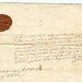 Order by General Monck, under Seal, for demolishing the fortifications of the Town of Dundee