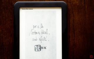 Dedicatòria en edició digital personalitzada de Ferran Cerdans Serra