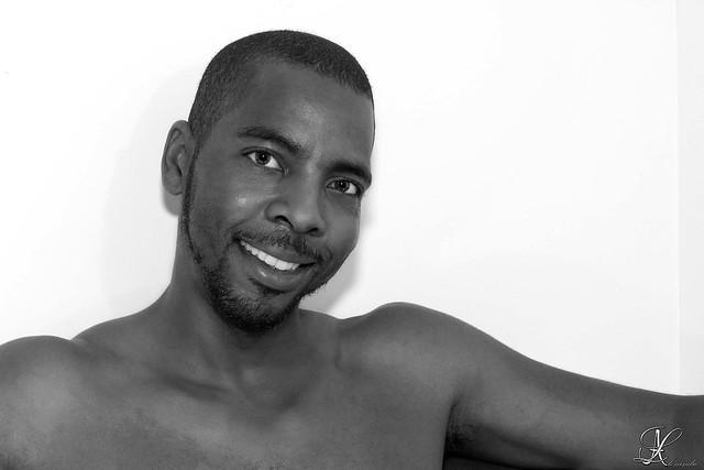 Portrait souriant