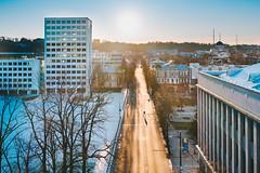 Social distance | Kaunas aerial #90/365