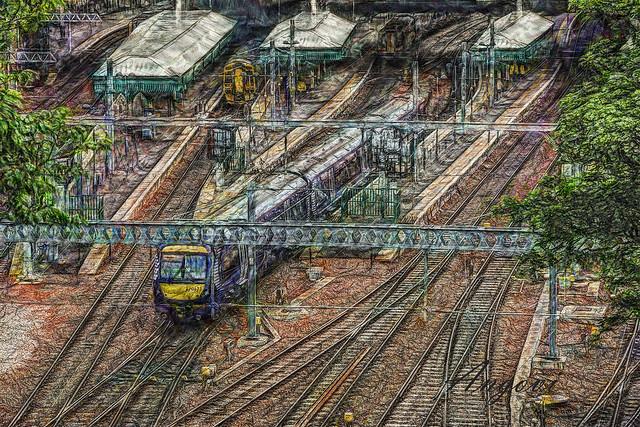 Edimburgo - Estación central