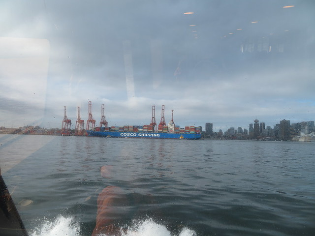 Vancouver waterfront from the Seabus