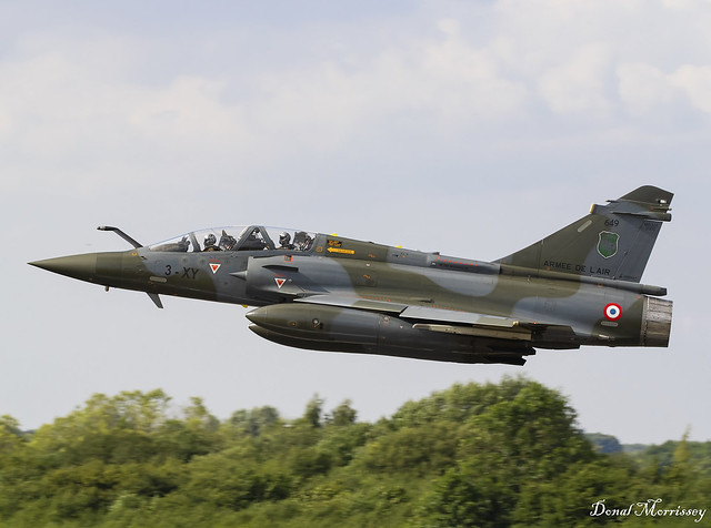 French Air Force (Armee De L'Air) Mirage 2000D 649/3-XY