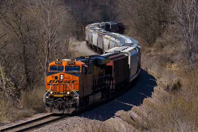 BNSF Railway   Galena, Illinois