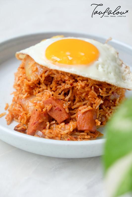 spam kimchi fried rice