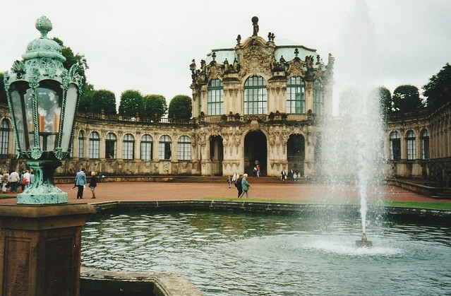 Le Zwinger (1711-1722), Dresde, Saxe, Allemagne.