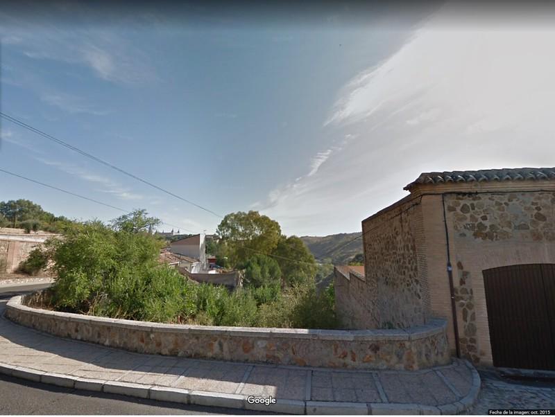 Curva del Cigarral de Caravantes en octubre de 2015. Google Maps
